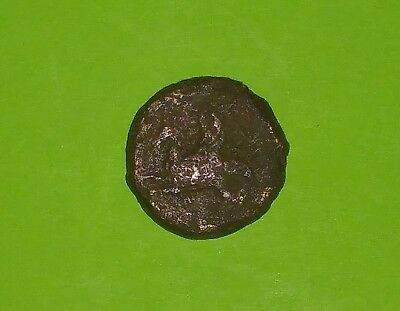 SYRACUSE SICILY 412 BC-345 BC Ancient GREEK COIN hippocamp goddess Athena old ae