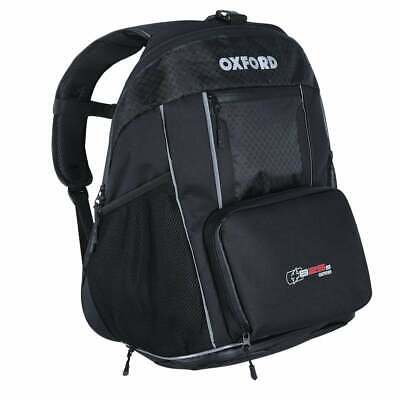 Oxford Motorcycle Luggage - XB25 Backpack - Black  (25 Litre)