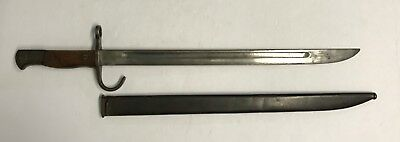 Original WWII Japanese Training Bayonet & Scabbard