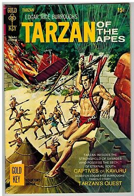 Tarzan Of The Apes #189 1969 Leopard Girl Story Gold Key Silver Age Nice!