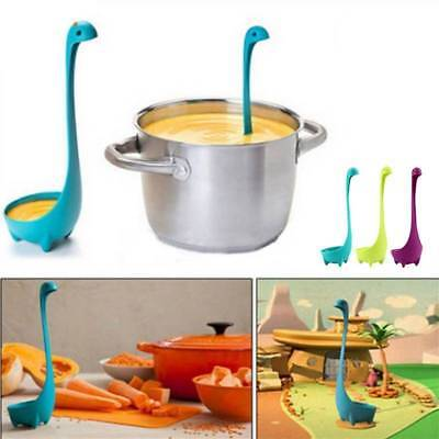 Dinosaur Stand Soup Loch Ness Ladle Monster Nessie Spoon Kitchen Cook Tableware