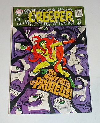 Beware The Creeper #2  Steve Ditko Art & Cover - Dc Silver Age 1969