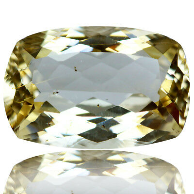 6.18 Ct Shimmering Rare Unheated Best Lustrous Yellow Scopalite !