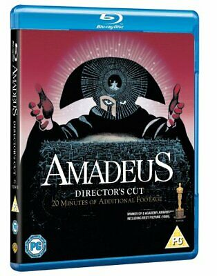Amadeus - The Director's Cut [Blu-ray] [1984] [Region Free] -  CD G4VG The Fast