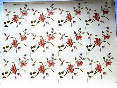 CERAMIC DECALS INNOCENCE 12 ON A SHEET 747430 12 cm LONG X 9cmWIDE RIGHT PRICE
