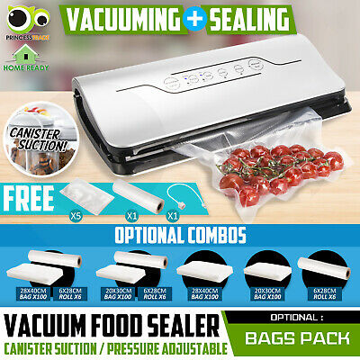 Vacuum Food Sealer Dry/Moisture Machine Storage Sous Vide Fresh Kitchen Bag Roll