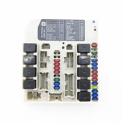 Nissan X Trail T30 2 2 Dci 05 Relay Fuse Box 19 99 Picclick Uk