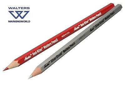 La-Co Markal Red-Riter & Silver-Streak Welders Pencil, Metal Marking & Welding