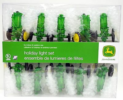 John Deere Light String: Tractors - 10 Lights NEW!