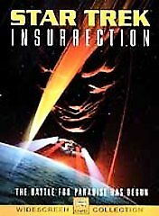 STAR TREK INSURRECTION (DVD, 2005, 2-Disc Set, Special Collectors Edition) NEW
