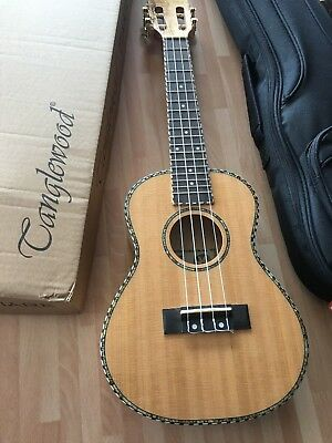RRP £169 Concert Acoustic Model Ukulele in Maple with Solid Cedar Top + gig bag