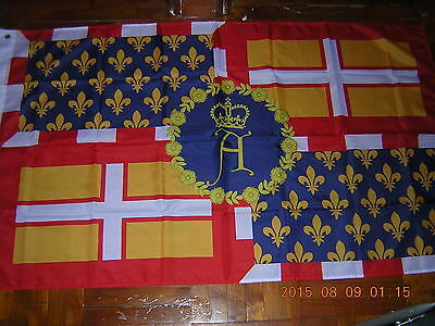 Angevin Empire of the House of Plantagenet British French 1154-1214 Flag Ensign