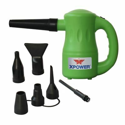 XPOWER GREEN Airrow-Pro-Multi-Use-Electric-Computer-Duster-Dryer-Air-Pump-Blower