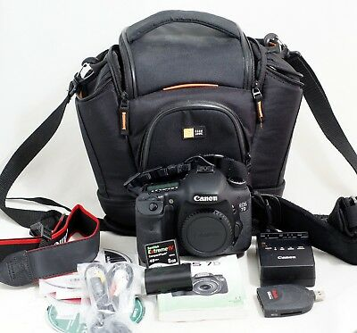 Canon EOS 7D 18.0 MP DSLR Camera Body Only WITH LOW SHUTTER COUNT