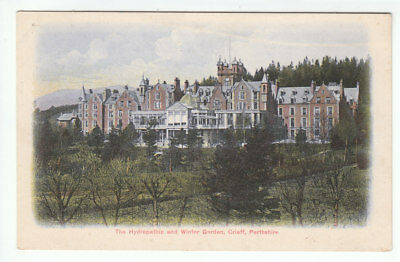 Crieff Hydropathic And Winter Garden Perthshire Pre 1914 FWH 207260 Old Postcard