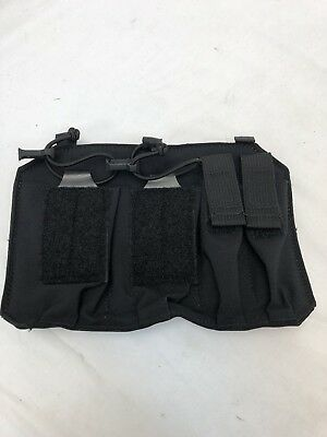 S&S Precision Old Gen Black Plate Frame Double Rifle / Pistol Pouch LBT 6186F