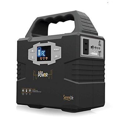 SereneLife SLSPGN10 Rechargeable Battery Portable Power Generator