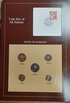 Bahrain UNC Coin Sets of All Nations - Free Shipping! - BBINp