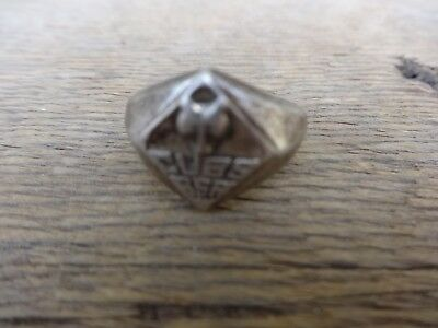 VINTAGE: BSA Boy Scouts of America CUB SCOUT Sterling Ring (1950's) Size 6
