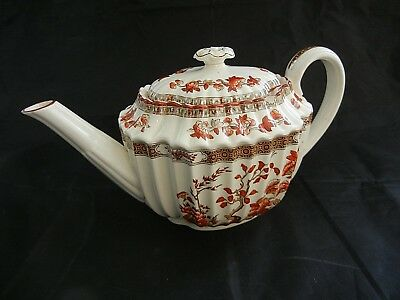 """COPELAND SPODE """"  INDIA TREE """"    5  CUP  TEAPOT -  SMALL CHIP - old mark"""