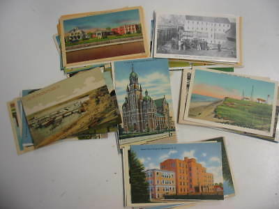 100 Older US Postcard Lot 9