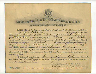 2 WWI US Army Appointment Documents Camp Sherman Chillicothe OH France 331st Inf