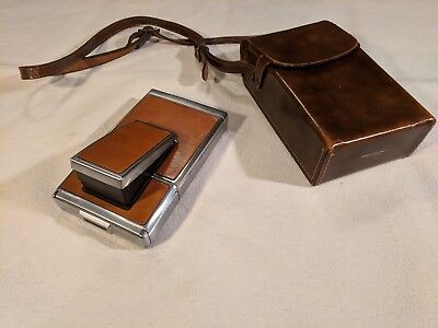 vintage Polaroid SX-70 land camera with case (untested, good condition)