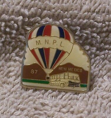 1987 M.n.p.l. New Mexico Balloon Pin