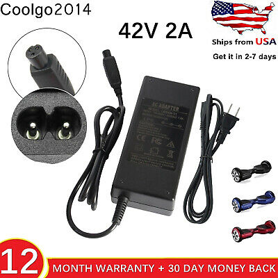 42V 2A Charger Adapter Power Cord For Hoverboard Smart Balance Scooter 2 Wheel