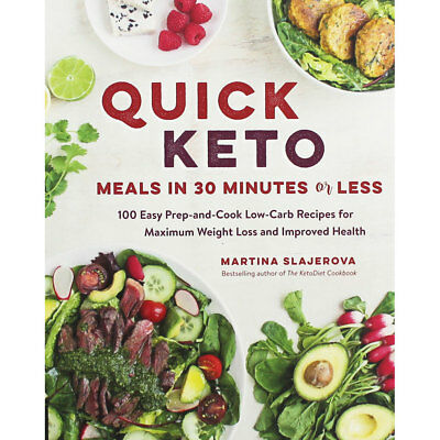 Quick Keto - Meals in 30 Minutes or Less (Paperback), Non Fiction Books, New