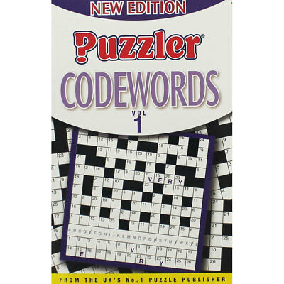 Puzzler - Codewords Volume 1 (Paperback), Non Fiction Books, Brand New