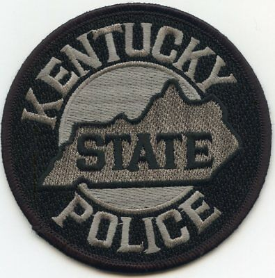 KENTUCKY KY STATE Highway Patrol SUBDUED POLICE PATCH
