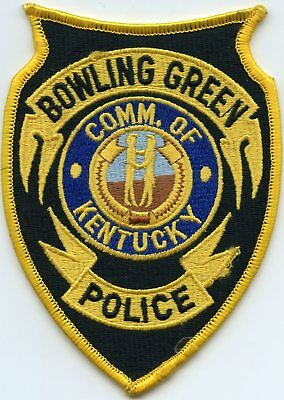 Bowling Green Kentucky Ky Police Patch