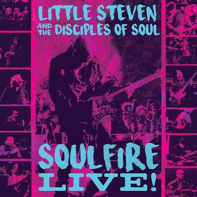Little Steven And The Disciples Of Soul - Soulfire Live! - New Cd Album