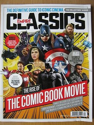 Empire Classics Issue 2 2018 Comic Book Movie Batman Iron Man Wonder Woman