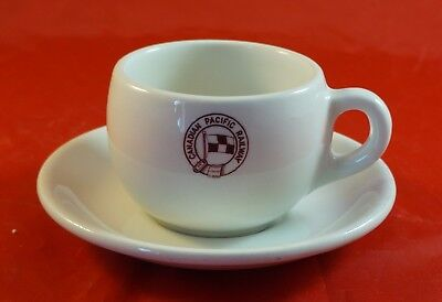 Canadian Pacific Railway Cup & Saucer Gridley Hotel Ware