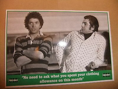 THE PROFESSIONALS MARTIN SHAW LEWIS COLLINS POSTCARD VIDEO issue 2 vol 5 CI5