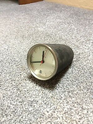 Omega Rocket Line Desk Clock - NOT WORKING