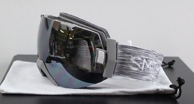 9279239c881 New 2019 Smith I OX Snow Goggles IOX Cloudgrey ChromaPop Sun Platinum Mirror