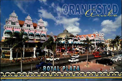 ARUBA Oranjestad Royal Plaza color Netherlands Antilles Niederländische Antillen