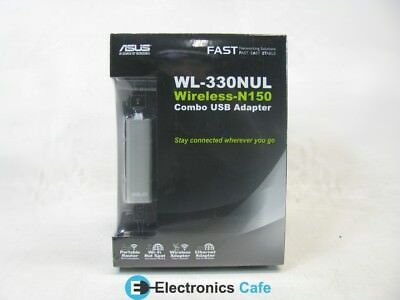 ASUS WL-330NUL Wireless-N150 USB Adapter