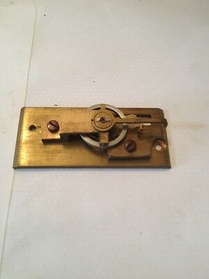 Clock Platform Escapement NEW  OLD STOCK (8 LEAF) 23.5 x 54 mm no  drop