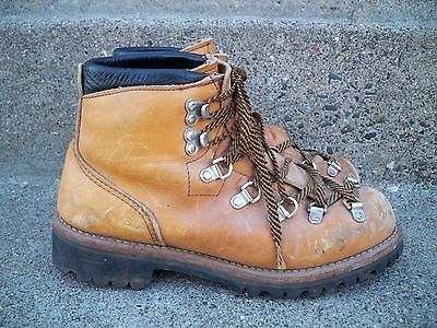 61244ca3504 VTG RED WING Irish Setter Mountaineering Hiking Leather Mountain ...