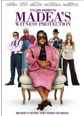 TYLER PERRY Madeas Witness Protection (DVD, 2012) NEW