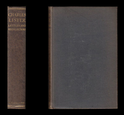 1917 CHARLES LISTER Letters and Recollections CONSTANTINOPLE Hood Bn DARDANELLES