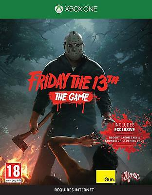Friday The 13th The Game XBOX ONE NEW & SEALED - UK Seller