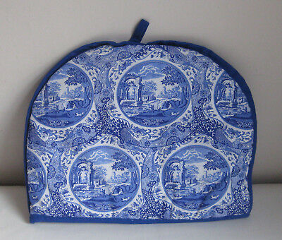 Blue Room Collection SPODE Pattern Blue & White PADDED TEAPOT Kitchen COSY - NEW
