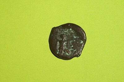 LUCANIA POSEIDONIA 420 BC-290 BC Ancient GREEK COIN poseidon butting bull good G