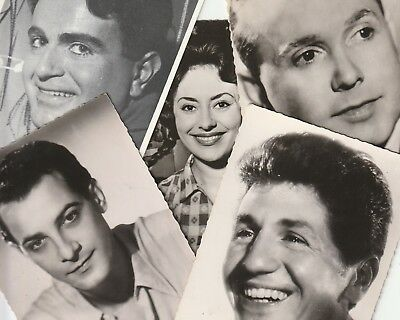 autographe Caterina VALENTE Guy BEART MOULOUDJI Georges GUETARY Guy BERRY
