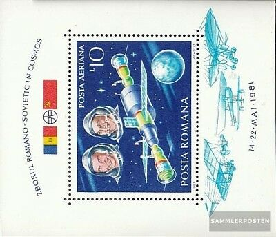 Romania block180 unmounted mint / never hinged 1981 Space flight